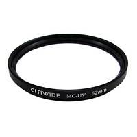 Ультрафиолетовый UV-MC фильтр 62мм, металлическая оправа