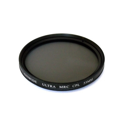 Поляризационный MRC CPL фильтр 55мм, круговой Multi покрытие
