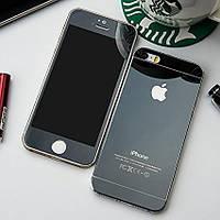 Защитное Стекло Apple iPhone 4/4s Комплект 2 шт. Черное