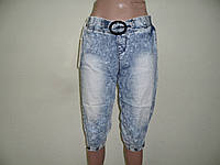 Бриджи джинсовые женские -СО25-OVO