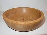Деревянные тарелки из бука, фото 5