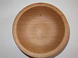 Деревянные тарелки из бука, фото 6