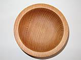 Деревянные тарелки из бука, фото 7