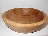 Деревянные тарелки из бука, фото 10