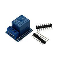 Модуль реле 1-канальный 5В для Wemos D1, D1 mini