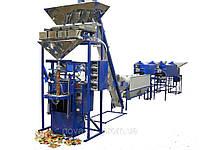 Фасовочно упаковочный автомат на сжатом воздухе с четырьмя весовыми дозаторами