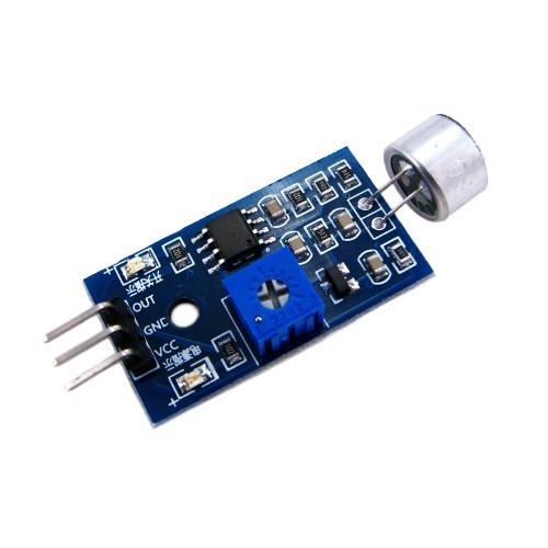 LM393 датчик звука / сенсор акустический, модуль Arduino