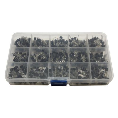 Транзистор TO92, S9012, S9015, С945, С1815 (набор из 600 штук)