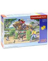 Детские пазлы castorland Верховая езда В-018079 на 180 деталей