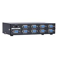 Разветвитель VGA на 8 мониторов (1 вход - 8 выхода), 350 МГц 65м