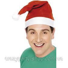 Новогодняя шапка  Колпак Санты , Деда Мороза