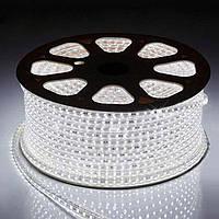 Светодиодная лента 220V LED 5050, мощность 4 Вт, наработка 100 000 часов, бухта 100 м, 4 цвета