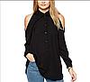 Блуза оригинальная женская оптом D6589