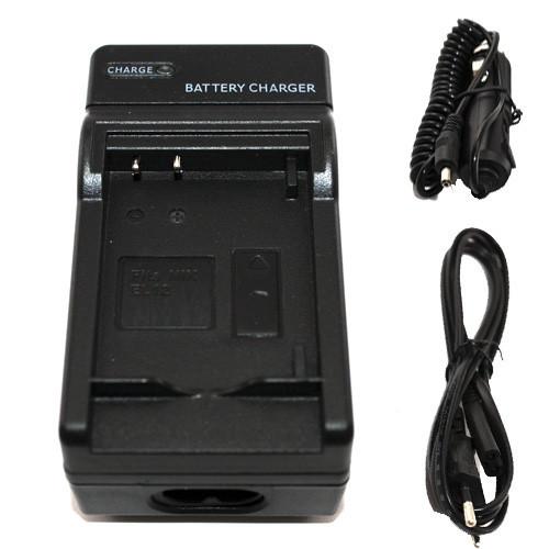 Зарядное устройство для Panasonic DMW-BCK7 \ BCK7E \ DMWBCK7 \ DMWBCK7PP + автоштекер