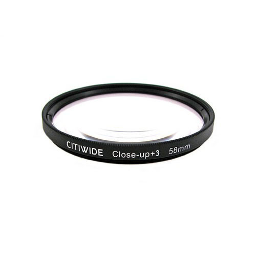 Макролинза 58мм +3 Close-up макро линза CITIWIDE