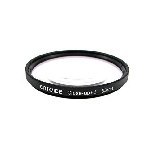 Макролинза 58мм +2 Close-up макро линза CITIWIDE