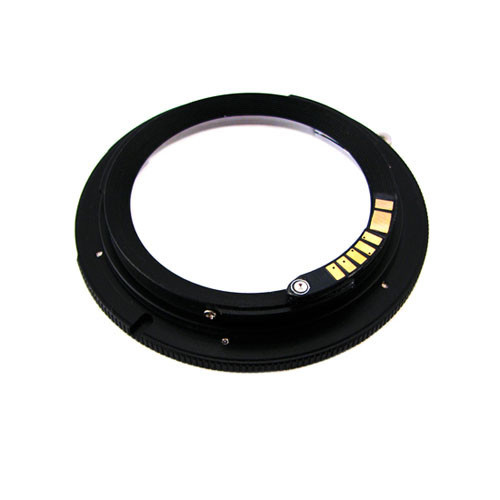 Адаптер переходник Leica R LR - Canon EOS, AF чип
