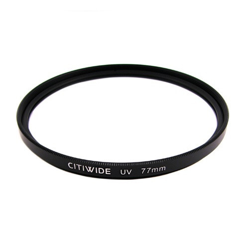Ультрафиолетовый UV фильтр 77мм, металлическая оправа