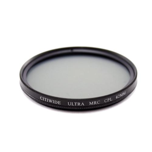 Поляризационный MRC CPL фильтр 62мм круговой, светопропускание: 99.7 %