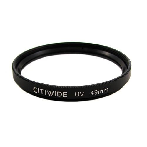 Ультрафиолетовый UV фильтр 49мм , металлическая оправа