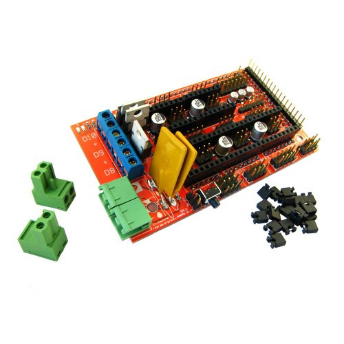 Плата расширения Arduino Mega Pololu Shield, RAMPS 1.4 в RepRap проекты