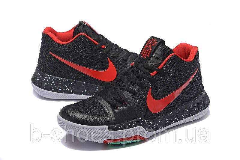Мужские баскетбольные кроссовки Nike Kyrie 3 (Black/Red)