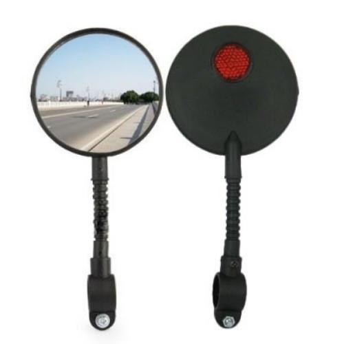 2х Зеркало заднего вида для велосипеда гибкое (2 штуки в наборе)