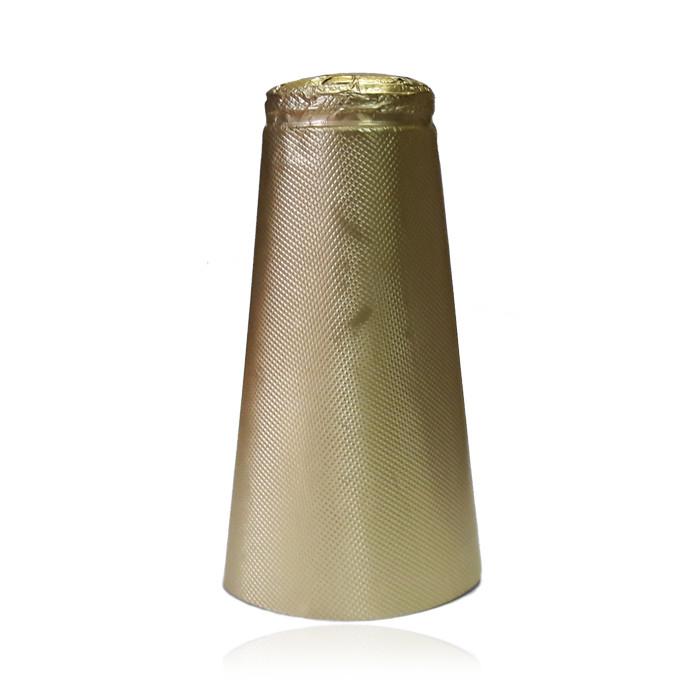 Капсула для шампанского фольга золото 34х50х120мм (Италия)