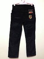 Детская одежда оптом Джинсы вельвет черные для мальчиков оптом р.1-5лет, фото 1