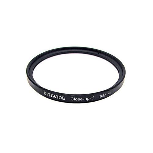 Макролинза 62мм +2 Close-up макро линза CITIWIDE
