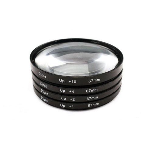 Набор макролинз 67мм Close-up, +1+2+4+10, макро