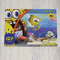 Пазлы для детей Sponge Bob Губка Боб, 120 деталей