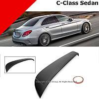 Спойлер бленда на заднее стекло Mercedes C C-Class W205 седан 2014-17 Новая