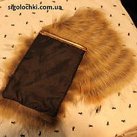 Меховой карман из енота