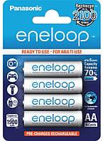 Никель-металгидридный аккумулятор Panasonic eneloop AA ( 1,2V 1900mAh ) (упаковка-4шт.)