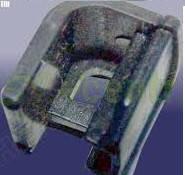 Фиксатор уплотнителя проема двери задней правой Chery Eastar B11 /  Чери Истар B11 B11-BJ6207116