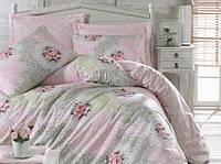 Комплект постельного белья евро размер ранфорс  cotton box