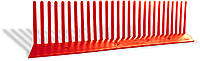 Гребень свеса плоский WA-BIS 60 х 1000 мм Терракот (0921)
