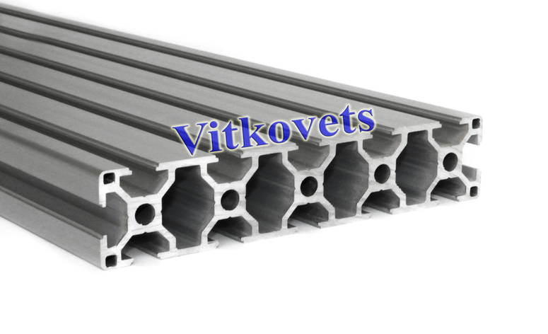 Станочный алюминиевый профиль для стола 30*150 500мм, фото 2