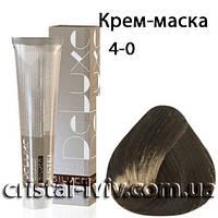 Крем-краска для волос De Luxe Silver 4-0 шатен
