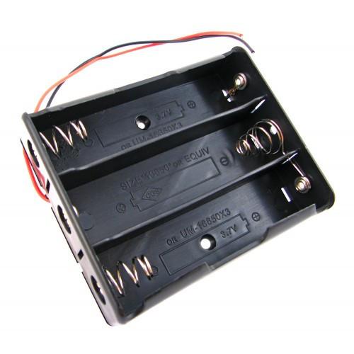 Кейс на три 18650 батареи, бокс 11.1 В, питание Arduino