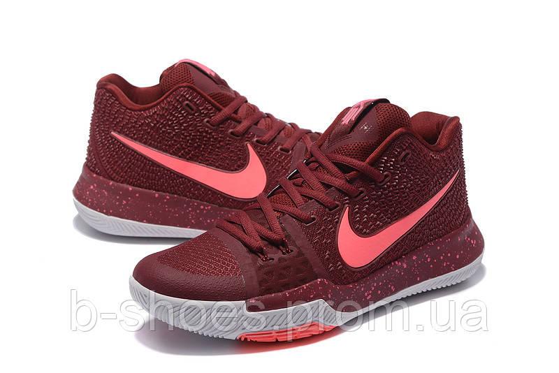 Мужские баскетбольные кроссовки Nike Kyrie 3 (Vinous)