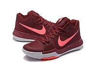 Мужские баскетбольные кроссовки Nike Kyrie 3 (Vinous), фото 1