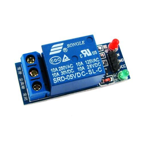 1-канальный модуль реле 5V для микроконтроллера