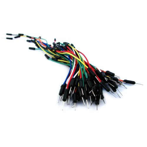 65x Соединительные провода, джамперы для макетов