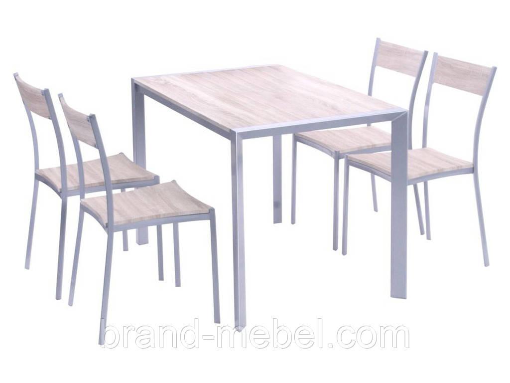 Комплект Тимьян (стол + 4 стула)