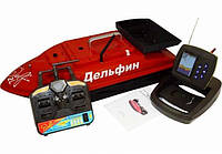 Кораблик для прикормки  Дельфін-2L+FF918
