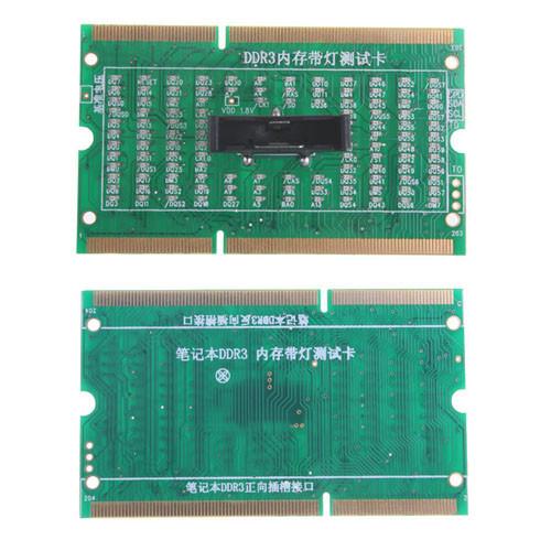 Тестер DDR3 слота SODIMM мат платы ноутбука