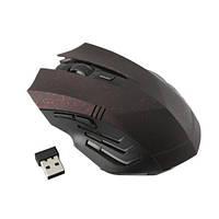 Беспроводная игровая мышь мышка Gamer, красная