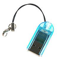 T-Flash / Micro SD микро кардридер USB, чтение / запись на MicroSD карту без переходника